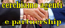 Cerchiamo Agenti e Partnership