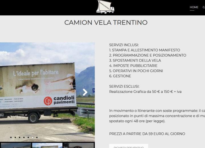 Camion Vela Trentino